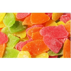Ананас листики цветные 500 гр