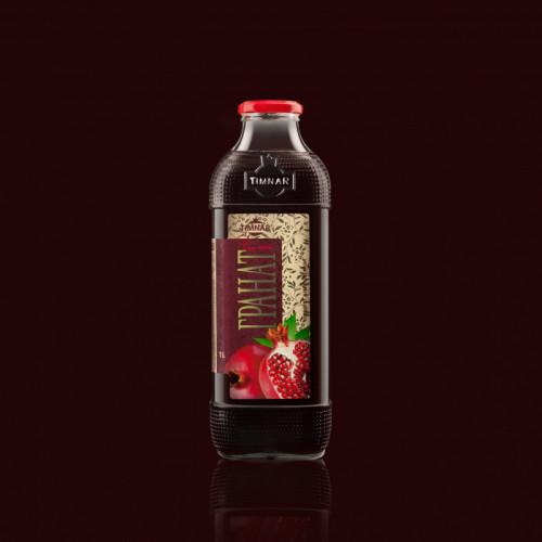 Сок Гранатовый литровый в упаковке 8 шт